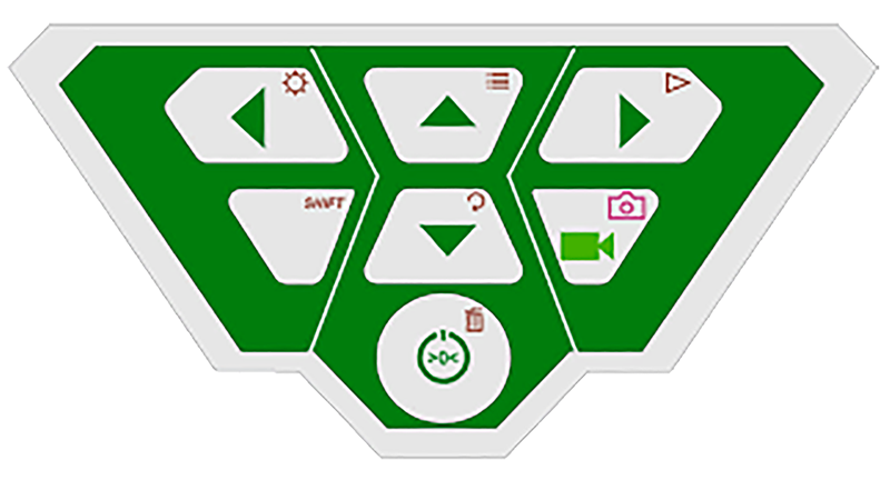 Controllo per sistema di videoispezioni fognature